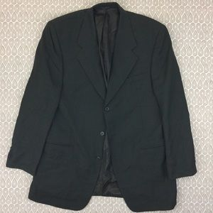 Andrew Fezza Men's Brown Blazer Suit Size 42L Y47